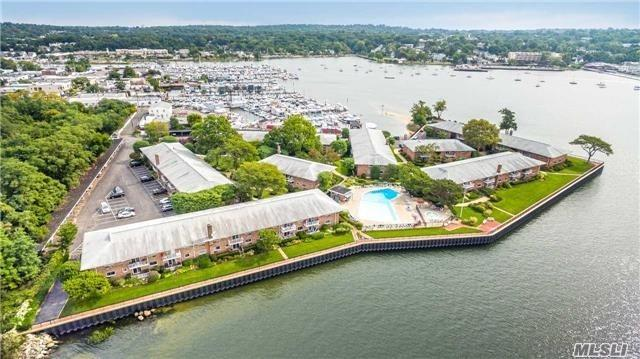 Watch The Sunrise And Sunset In This Large Renovated 1 Bedroom Waterfront Apt. With Expansive Views Of Manhasset Bay. Resort Style Living W/In 35 Of Nyc. New Designer Kitchen With Maple Cabinets, Granite Tops, Stainless Appliances And Franke Sink. Updated Bathroom With New Vanity With Marble Tops. Large Master Bedroom With Two Oversized Closets. Fresh New Paint And Hardwood Floors Throughout.All New Doors.Included In Maintanance Is Heat, Taxes, Water And Parking. Maintenance With Star 980.00.