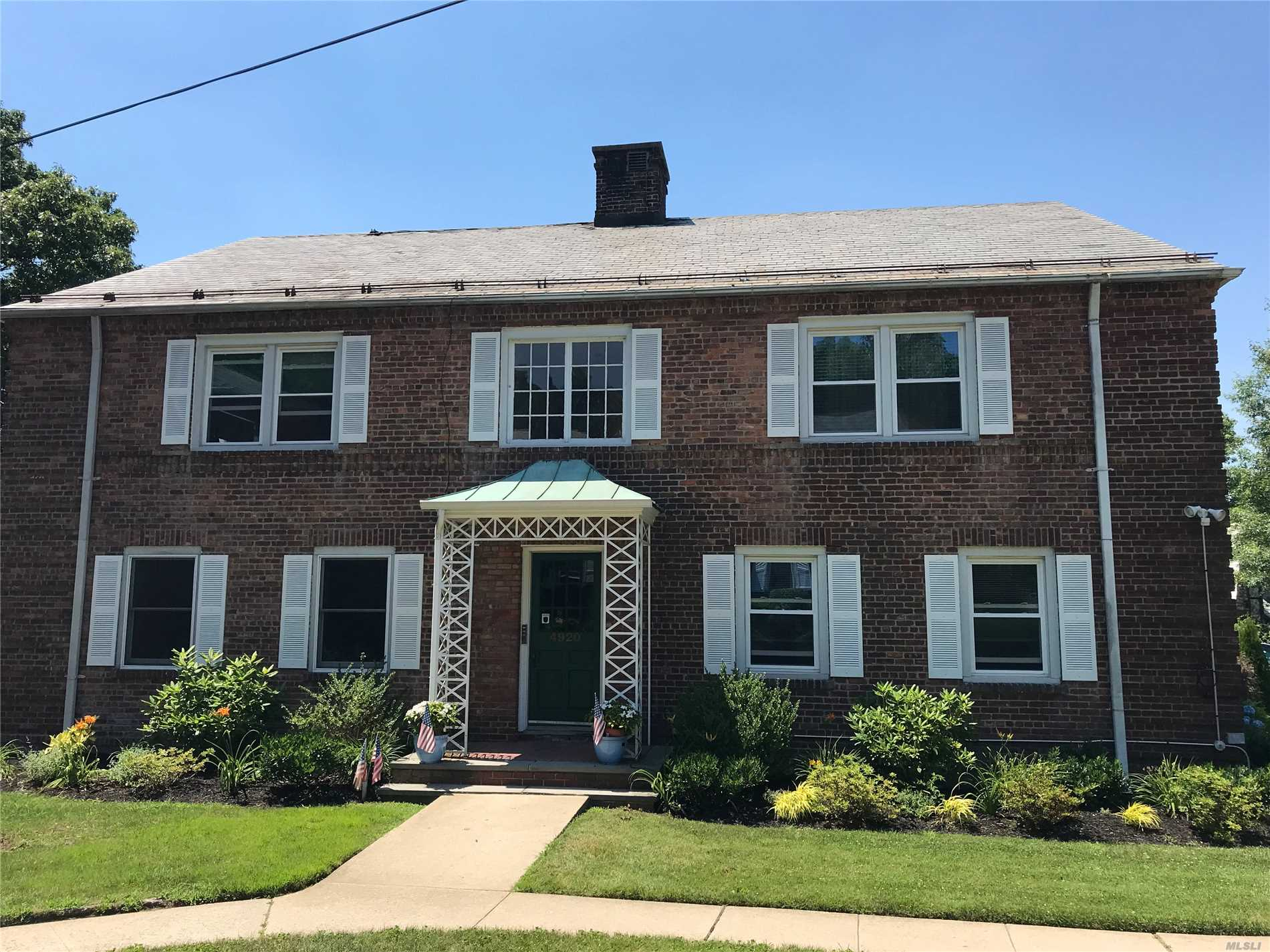 Prime For 1031 Year End Exchange..4 Car Parking Pad.....Fantastic, Legal Four Family. Backing On Environmental Land. .Accessible To L.I.E, Lirr, Northern Blvd. Buses, Shopping And Markets. Large Two Br's. 2100 Sf Basement, 7' 10 Ceiling Height. Free Market Rents! Ideal Long Term Addition To Any Investment Portfolio!