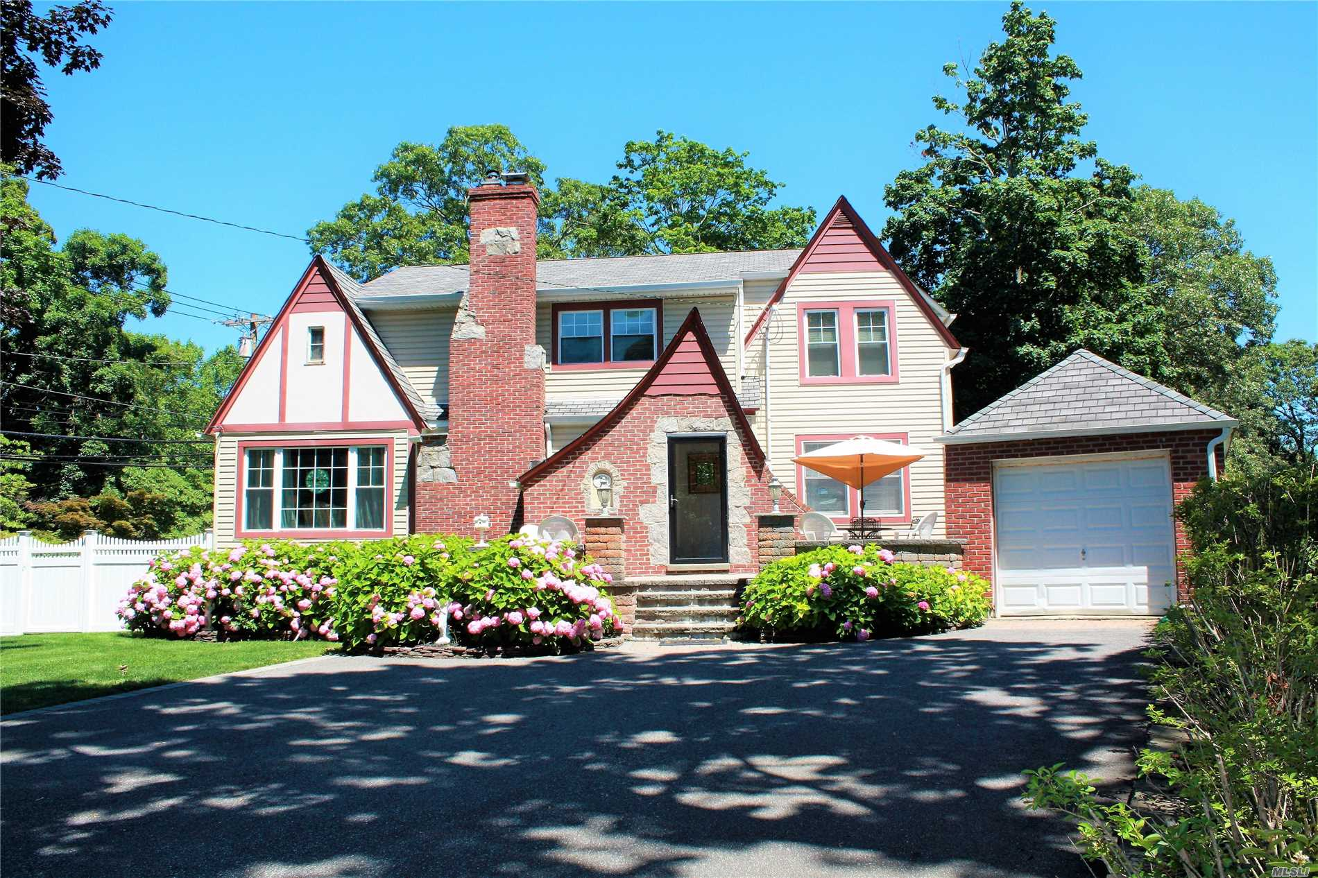 One Of A Kind Unique Tudor -Renovated, New Double Pane Windows, New Roof, New Siding. Extensive Paver Entry & Private Paver Patio. Completely Pvc Fenced Yard. Freshly Painted. Close To Beach.