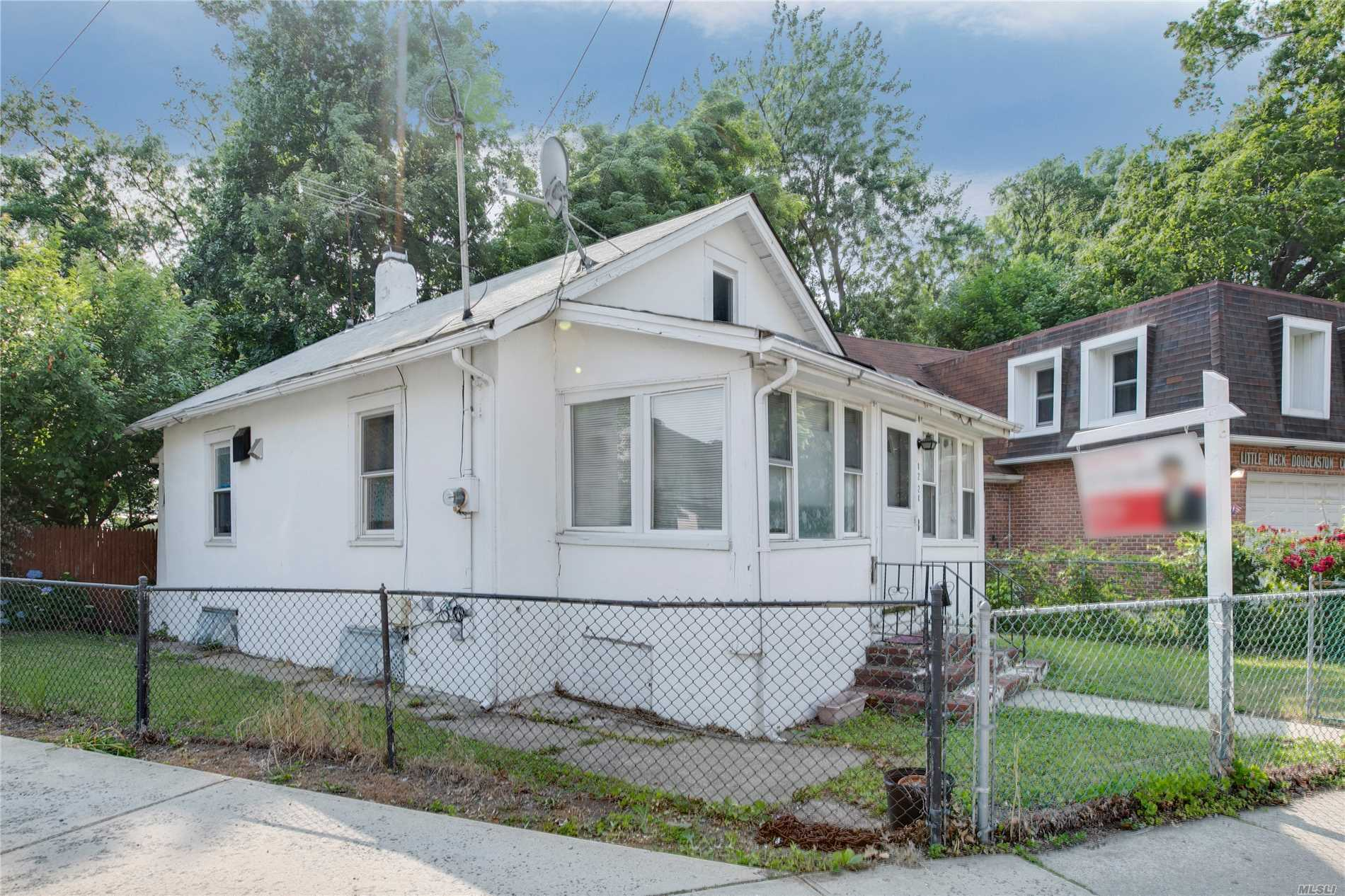 Great Opportunity For A Starter Home Or Rental Income Investment. Can't Beat The Location, 0.4 Miles To Lirr Little Neck Station, 1 Block To Northern Blvd And Q12, Qm3, N20, N20G, Restaurants, Post Office, Stop & Shop Supermarkets, Etc. Ps 94 David D Porter Is 1 Block Away.