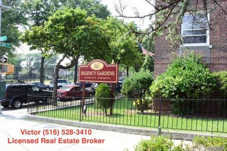 Recently Renovated 1 Bedroom At The Regency Gardens Complex. Beautiful Sunny Apartment, 2nd Floor. Large Kitchen With Stainless Steel Appliances, Granite Countertops, Kitchen Island.