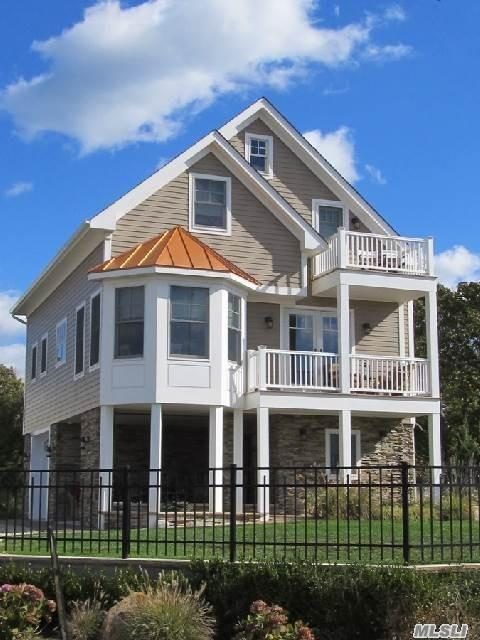 Turn Key For Summer Fun. Coastal Living Retreat. Handicapped Accessible, Elevator To Main Floor. Close To Jamesport Bay Beach, Playground, Tennis Court And Marina.