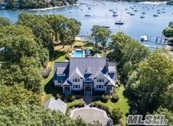 Magnificent Waterfront Opportunity In Lloyd Harbor. 6500 Square Foot Custom Built Estate With Breathtaking Sunrise And Sunset Views! Deep Water Shared Dock For Up To 50Ft Boat, Heated Gunite Saltwater Pool, Tennis Court, Fire Pit, Putting Green. Home Boasts 5 En-Suite Bedrooms Each With Its Own Marble Bathroom. A Spectacular Home With Every Amenity You Could Desire.