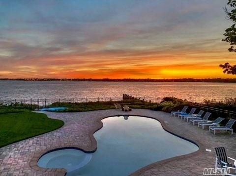 Bayberry Point With Bay Views. Private Beach, Heated Gunite Pool And Spa. Association Docking. Large Property And Home. New Kitchen, Bath, Downstairs All Redone. Breath Taking Views!