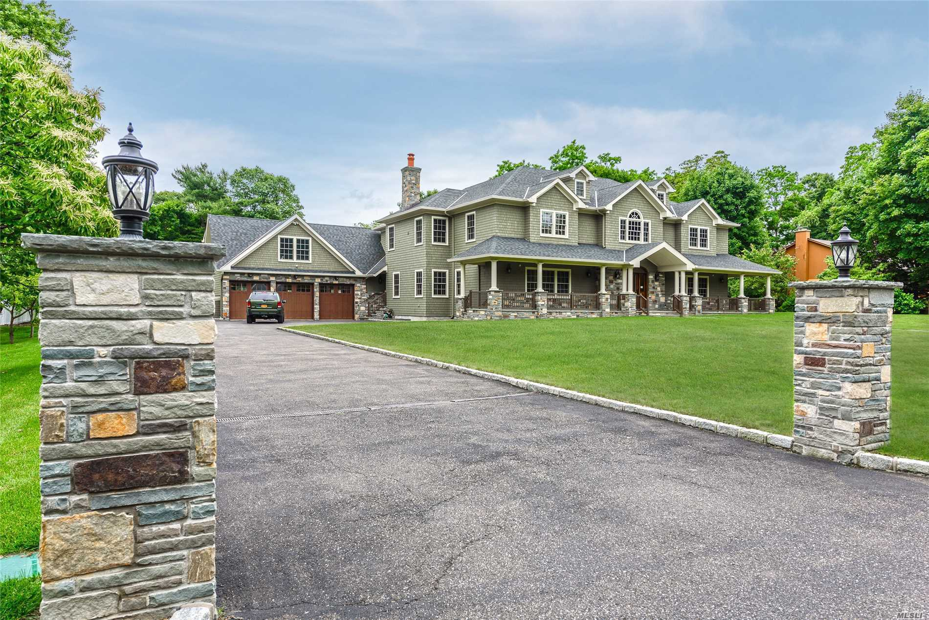 Builder's Own Luxury Home On Flat Acre Plus On Quiet Lane. Expansive Open Concept Kitchen And Great Room That Opens To Lovely Covered Bluestone Outdoor Dining Area. Six Beds And Six Full Luxury Bathrooms. All Top End Appliances Including Wolfe Gas Range And Sub Zero Refrigerator, Features Include Radiant Heat, Large Guest Suite, Master Up Or Downstairs, Large Upper Outside Deck, Three Car Garage And Loads Of Storage Throughout. Country Setting Near Beaches, Towns And Train.