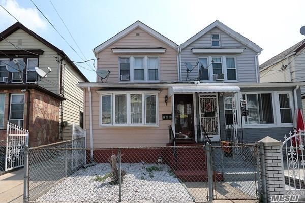 Colonial With 3 Bedrooms, Formal Dining Room, Full Finished Basement, Roof & Boiler Are Less Than 3 Yrs Old, Hot-Water Tank 2017, & New Fridge & Stove. Back Yard Boasts A Det. 2 Car Carport,  Attic Close To All