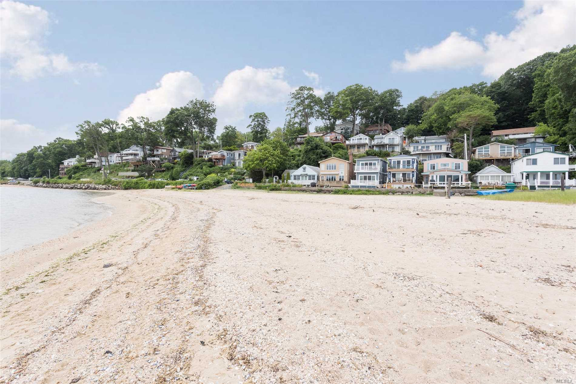 Gorgeous Water Front Community, With Low Taxes. Individual Cottage Which Can Be Increased To 1500Sqft Of Living Space, Comes With Beach And Mooring, And Dock Rights. There Is A Slip For Your Boat Available With Extra Fee. The Cottage Needs Work But Does Already Have Gas Heat And Fireplace.