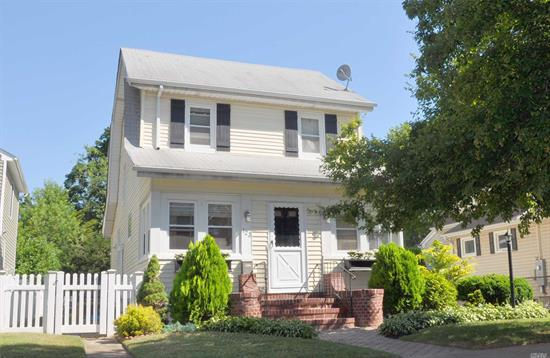 Charming Colonial In The West End Of The Incorporated Village Of Floral Park. This Beautiful Home Features: 3 Bedrooms, Updated Eik And Updated 1.5 Baths, Large Family Room Off The Kitchen, Formal Dining Room And An Office. Plenty Of Closets And Storage Throughout. Low Taxes! Close To Lirr