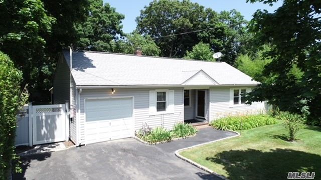 Mint Updated Ranch In The Heart Of Port Jefferson Station. New Roof, Windows Siding Boiler, Hw Heater, Cesspool, Bathroom, Large Skylight In The Kitchen Makes It Bright And Sunny. Updated Bathroom W/ Gorgeous Tile Work. The Covered Screened Patio Is The Perfect Summer Hangout. Private Fenced Rear Yard With A Lush Green Lawn.