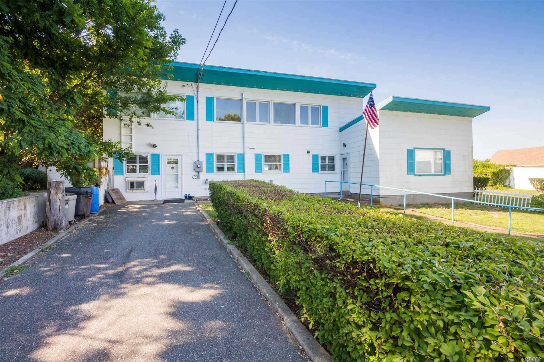 Situated On Long Island Sound With Expansive Beach & 3 Building Compound With All Glass With Open Concept & Water-Views From Every Room, Truly A Magical Retreat. Greenport School District.