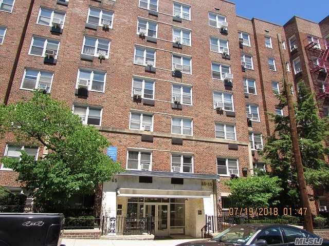 New Price! Beautiful And Big 1 Bedroom Apartment For Rent In Desirable Rego Park In Doorman Building Only 2 Blocks To R And M Subway. Large Living Room And Dining Area, Renovated Eat-In-Kitchen And Modern Bathroom. Hardwood Floors. Amenities Include: Doorman, Laundry In Lobby Level,  Storage. Rent Includes Heat, Hot Water And Cooking Gas. Near All.