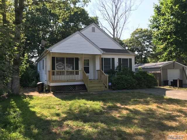 A Newer 3 Bdrm Ranch - Home Shows Great! Cute As A Button! Custom Built Home, Hardwood Floors Through Out, Cathedral Ceiling In Great Room, Old Fashioned Front Porch 9 Ft. Ceiling In Basement For Possible Finish, Great Area Commuter's Delight - Near William Floyd & Expressway! Longwood Schools!