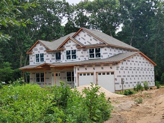 Summer 2019 Premium lot 1.3 acre fantastic privacy. Custom 5 Br 3 Bath Home On .91 Acre. Crown Molding 1st Floor And Master Br. Custom Cabinetry And Granite Baths And Kitchen. Plenty Of Time For You To Make This Your Own/Customize With Your Desired Wish List! Set Back 275' From Clay Pitts. This Property Runs Alongside The East Side Of Wm. Byrne Park. Very Private Setting. Elwood Sd#1 Ge Appliance Package Hydronic Heat With Separate Boiler And Hw Heater
