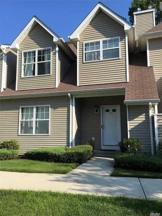 Beautiful Spacious Two Story Condo With Large Master Suite, New Washer/Dryer, New Fridge And Dishwasher. Huge Finished Basement. Large Kitchen Open To Living Room. Office On First Floor. Vaulted Ceilings, Slider To Back Terrace And Storage Shed.