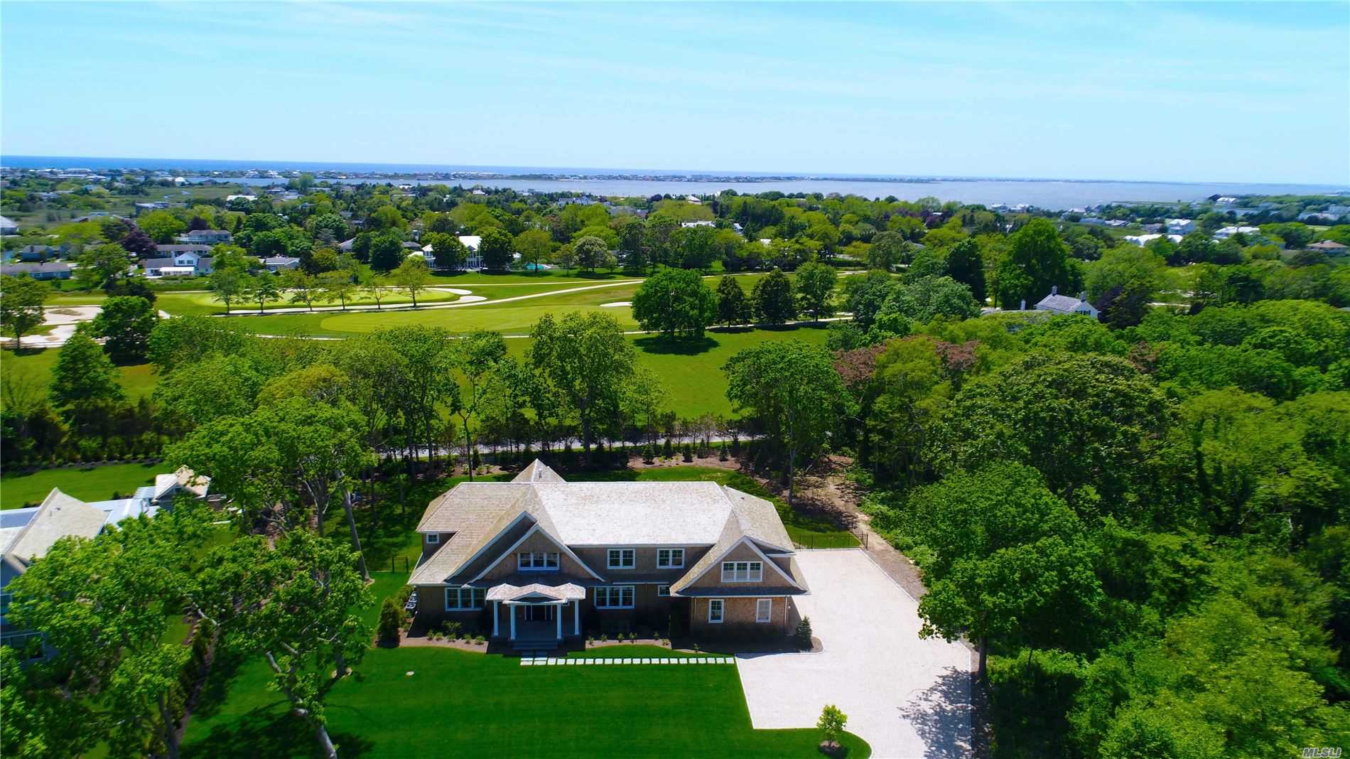 Stunning New Construction In The Heart Of Westhampton Beach Village Produced By Renowned Builder Owen Construction. This Sprawling 5, 800 Sq Ft, Five Bedroom, Five & One Half Bathroom Masterpiece Abuts The Westhampton Country Club. High End Finishes Throughout, Master Suite Features Spa-Like Bathroom, His & Her Closets & Amazing Views Of The Heated Gunite Pool & Golf Course. Four Additional En Suites, Three Car Garage And Extensive Landscaping Make This Home A Dream Come True.