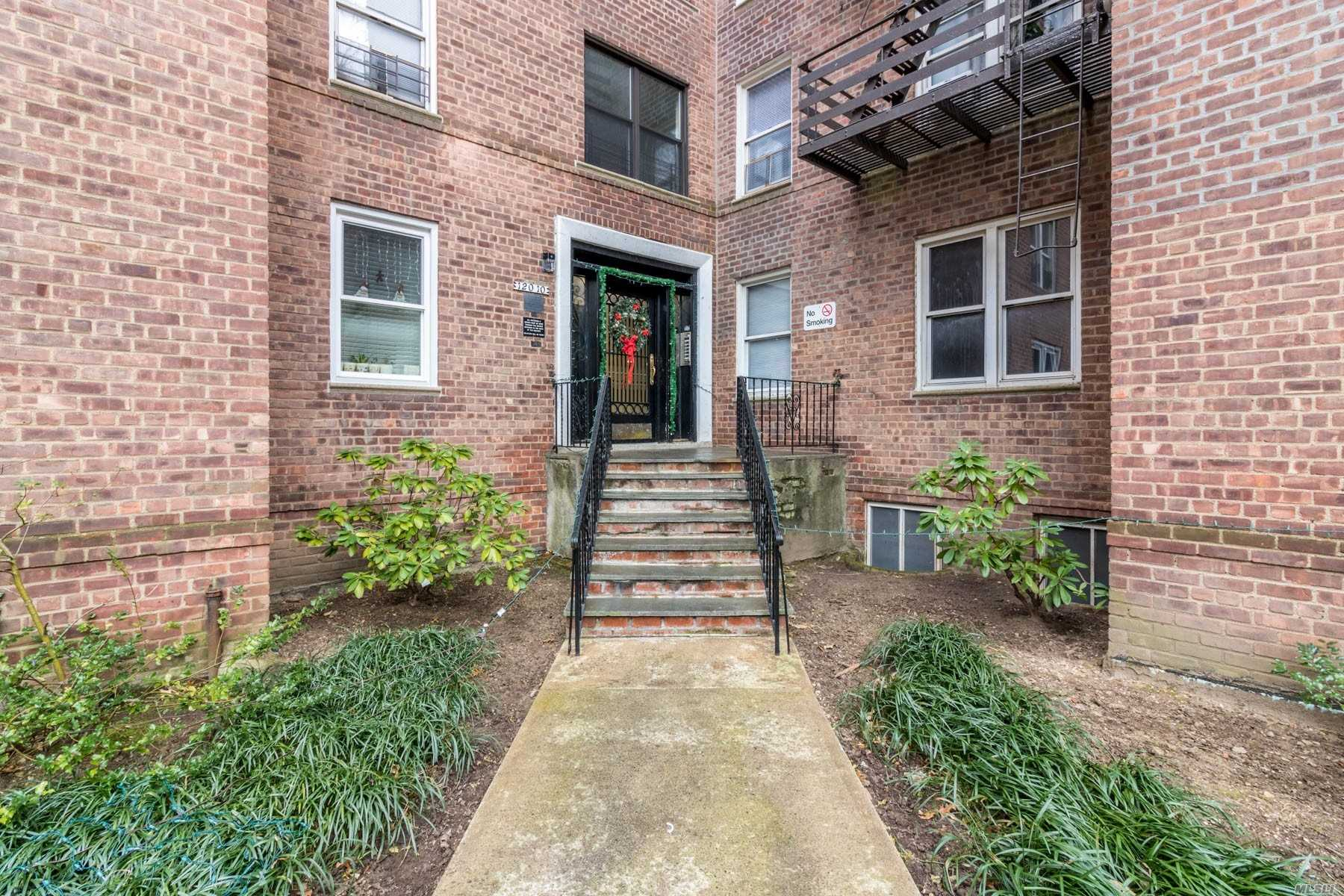 Newly Renovated True 2 Bedroom Co-Op. Hardwood Floors Throughout Granite Countertop. Ss Appliances, Modern Bath With Jetted Tub. Lots Of Closets. Walking Distance To Trains, Buses And Shopping. Laundry In Building.