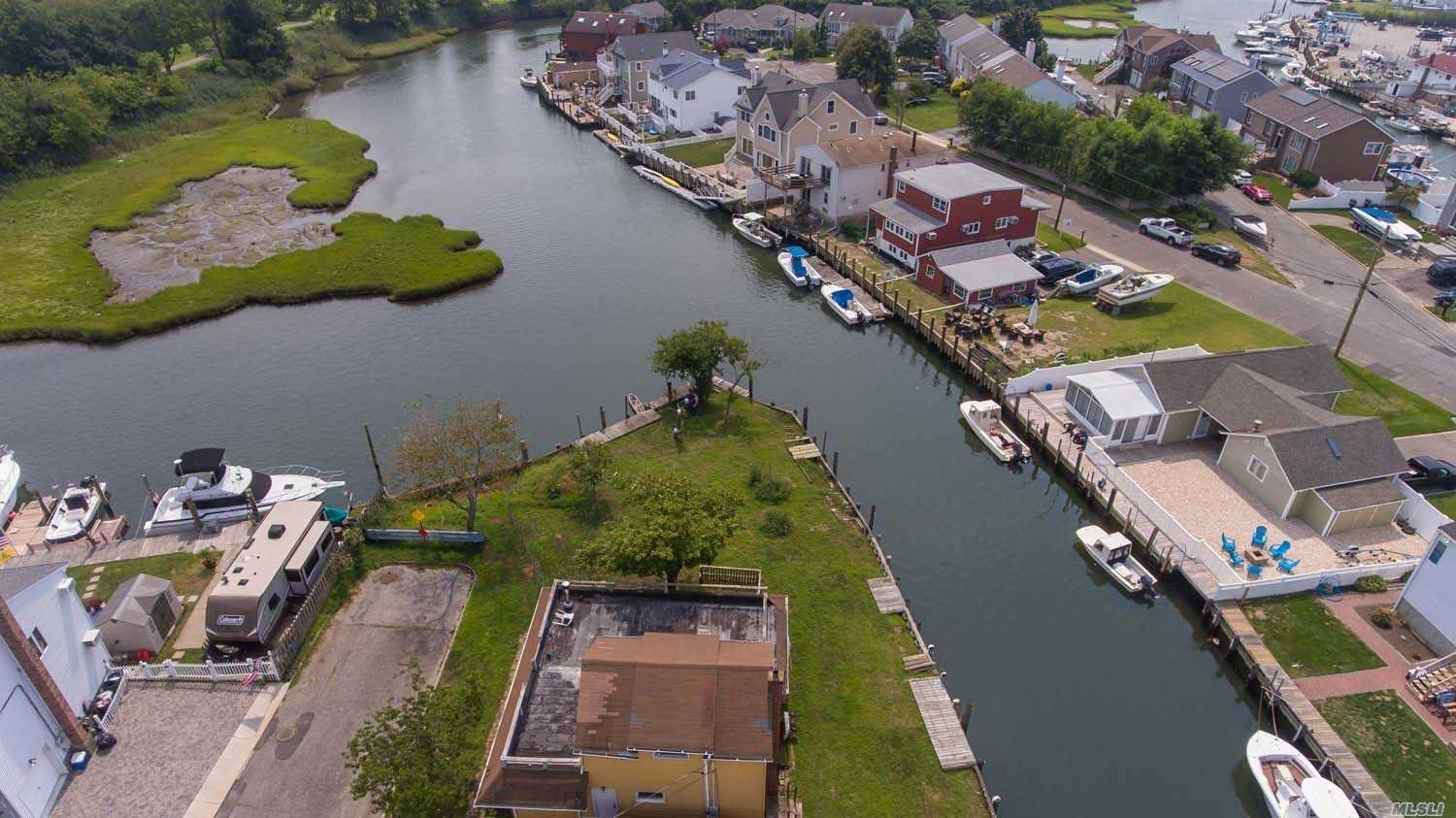 Boat*Fish*Swim*All From Your Own Backyard With This Waterfront Gem*Amazing Chance To Live On The Water And Customize Your Finishing Touches*Great Corner Property With Quick Water Access*This Is A Must See!