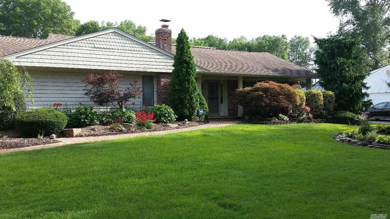 Beautiful Whole House Rental In Smithtown. Spacious Raised Ranch With Country Club Landscaping With Inground Gunite Pool. Eat In Kitchen With New Appliances. Formal Dining Room With Hardwood Floors And Fireplace. Extra Large Living Room With Vaulted Ceilings And Skylights. 4 Bedrooms, 2.5 Baths, Central Air, Gas Heat, Discounted Electric. No Pets.
