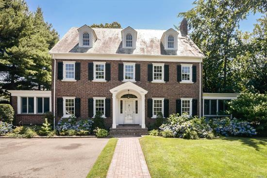 This Beautiful Brick Colonial Located In The Heart Of The Central Section Of Town Is Situated On A 100 X 250 Lot. The First Floor Features A Lr W/Fp, Fdr, Eik, Family Room, Sun Room And A Screened In Porch. The Second Floor Has 4 Bedrooms Serviced By 2 Full Bathrooms And A Sun Drenched Office Overlooking The Backyard. The Third Floor Has 2 Bedrooms, A Full Bathroom And Storage Space. Conveniently Located Near Shopping, Transportation And Restaurants Makes This The Perfect Place To Call Home!