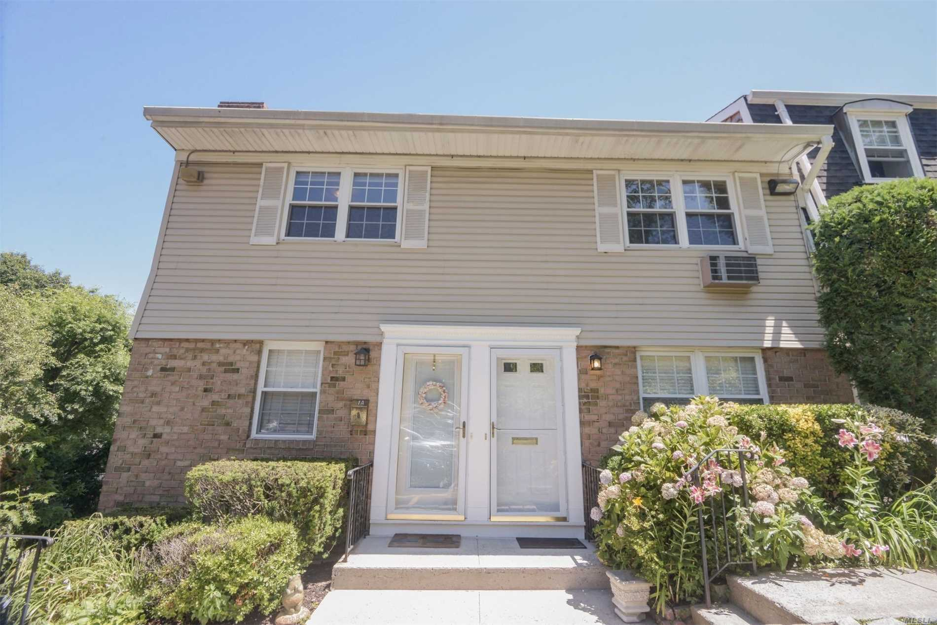 Enjoy Waterviews Inside Or Out On The Back Deck Of This Private Corner Unit In Oyster Bay's Desirable Top Of The Harbour Community! It Is The Only Two-Bedroom Model Available! Clean, Bright & Airy! Plenty Of Closets & Storage Throughout. Great Location! Close To Town, Lirr, Beaches, Parks, Shopping, Restaurants & Entertainment. Maintenance Includes Heat, Water, Taxes, Snow Removal & Landscaping.