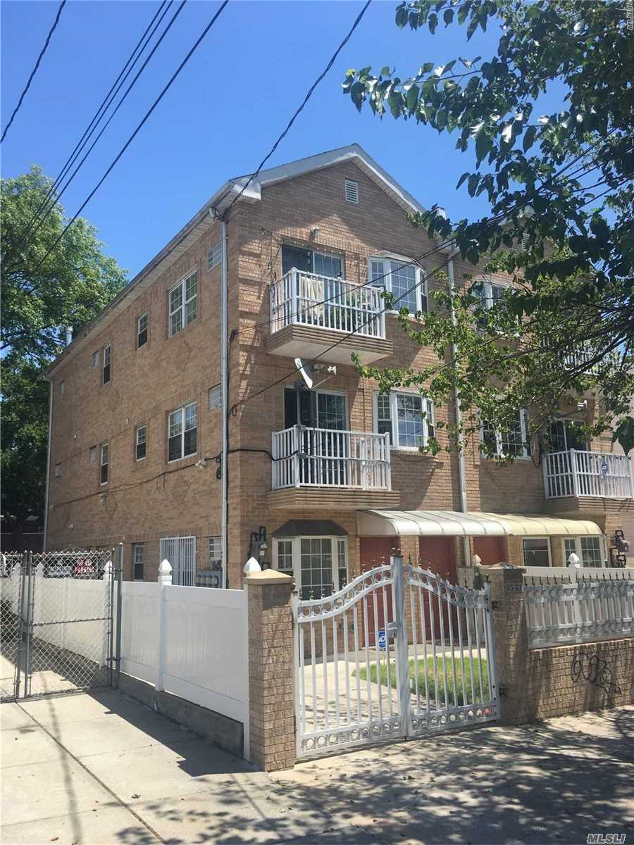 3-Family Brick/Cmu Bldg. Adjacent To Woodhaven Blvd. In Ozone Park. Hdwd./Porcelain Flooring, Ss Appliances Incl. Micro-Hood Oven, Cfl/Led Lighting; Close To A/J Train, Express Bus To Manhattan, Forest Park , Golf Course & All Park Amenities. Great Investment Potential