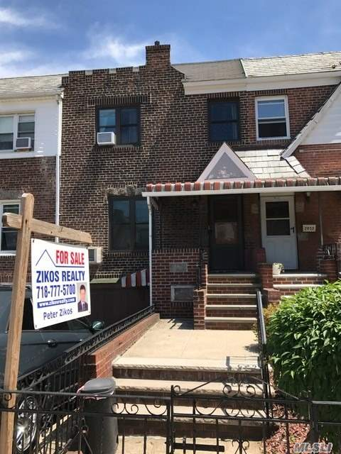 Two Family Brick Great Starter Home First Floor Two Bedroom Duplex Apartment With A Nice Back Yard. Second Floor Two Bedroom Apartment Good Condition. One Car Garage.