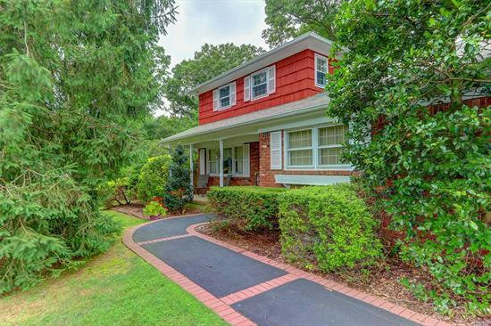 Park Like Property Set Back From Road, Sprawling 1 Acre +, Private, Fully Fenced Backyard, Professionally Landscaped, Colonial With 18 X 36 Built- In Heated Pool, Built- In Weber Grill For Year Round Cooking, 2 Car Garage With Spacious Driveway For Additional Parking, Formal Dining Room, Large Living Room With Vaulted Ceilings, Family Room With Wood Burning Fireplace, 4 Bedrooms, 3 Baths. 3 Year Burnham Gas Fired Boiler. Pride In Ownership! Low Taxes!