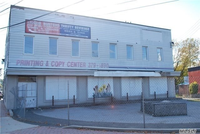 Location Location! Vacant Building To Be Developed. 6000 Sq Ft. 2 Story Building W/ Parking. Approved Variance For 3000 Sq Ft Of Retail Space On 1st Fl. 2nd Fl. (2) One Bedroom Apts.& (2) Two Bedroom Apts. Building Drawings Attached. Permits Pending.