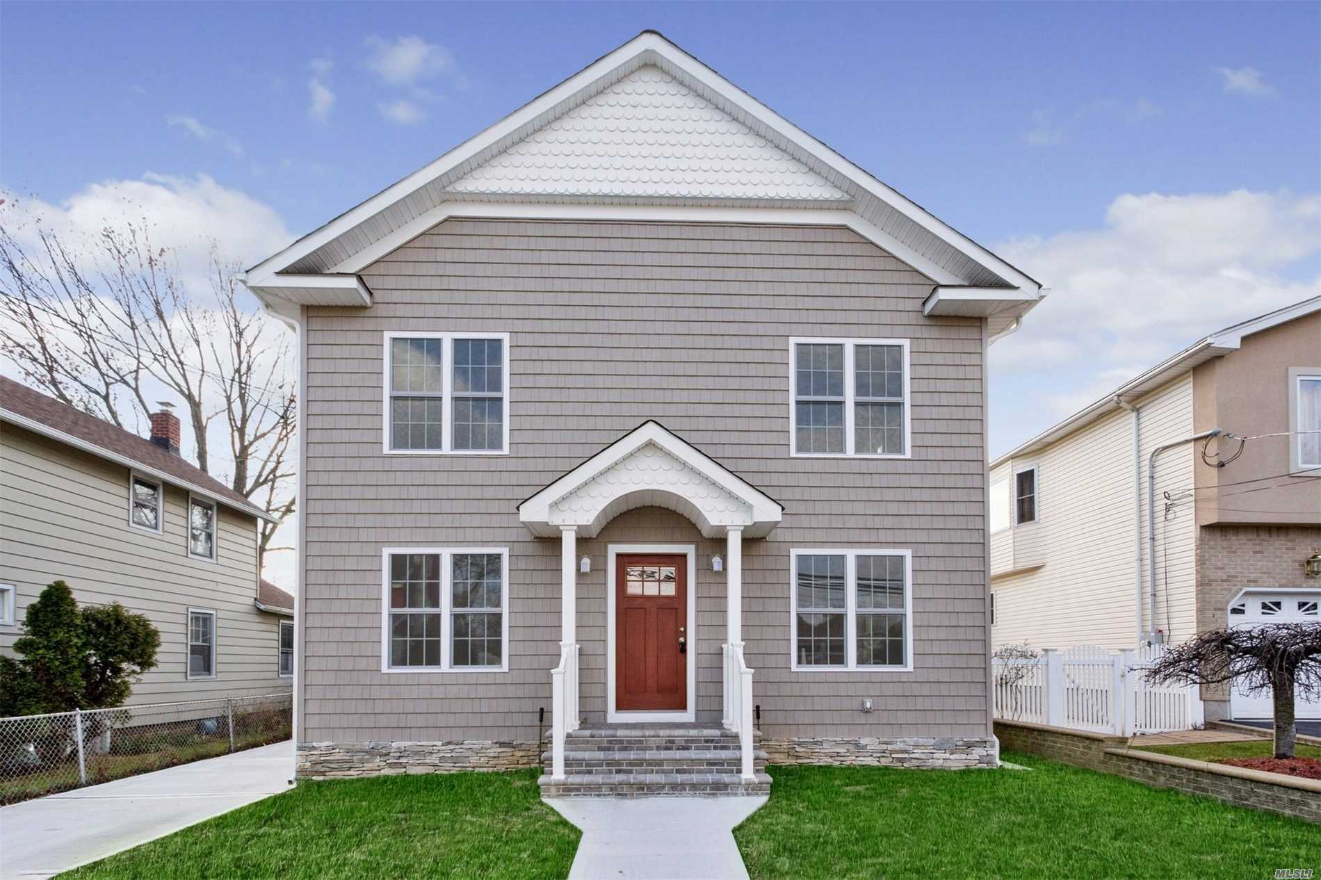 New Construction -Home Features Open Floor Plan On The First Floor With A Granite Kitchen And Ss Appliances, Second Floor Features Master Bedroom With Bath & Finished Walk In Closet, 9 Foot Ceilings Throughout 2nd Floor With Crown Moldings. Hardwood Floors And 2 Zone Central Ac, Finished Basement And Much More. No Flood Insurance Needed. Schedule Your Appointment Today!!