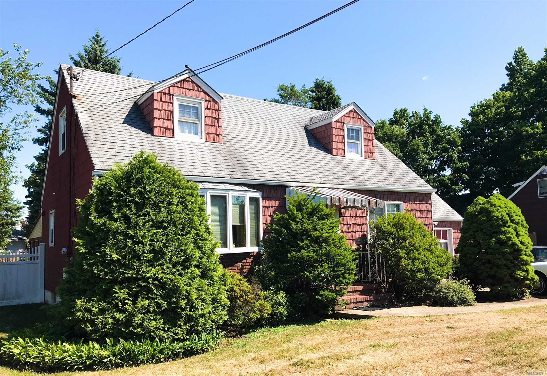 Extra Large Lot, Great Location, Very Large Wide Line Cape, Needs Tlc But Has So M Much Potential. And Low Taxes!