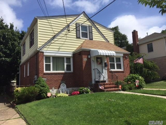 Super Extended Cape Close To Shopping And Parkways. New Kitchen And Updated Baths. Gas Heating System, Hot Water Zone Upstairs, Hot Air Zone And Central Air Conditioning First Floor And Basement. Updated Roof And Windows. Central Alarm And Camera Surveillance.