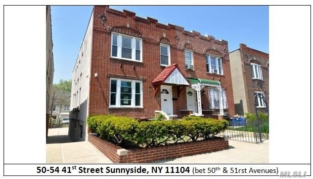3 Family Brick Semi-Detached 1 Bedroom, Living Room,  Kitchen. 2nd Floor Includes 3 Bedrooms, Living Room, Kitchen And Full Bath. 3rd Floor Includes 4 Bedrooms,  Living Room, Kitchen And Full Bath .3 Hot Water Heaters,    Two Boilers And New Electric!!
