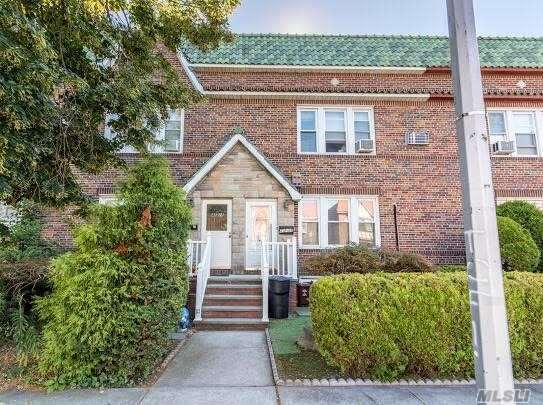 Attached Single Family For Sale In Prime Location, Two Stories Plus Finished Basement, 3 Bedroom/1.5 Bath, R4 Zoning, Easily Convert To Legal Two Family, Huge Backyard. Next To All Transportation, Lirr, Major Retails, Blocks Away From Bell Blvd. Great School District, One Car Garage And One Parking Space. A Must See.