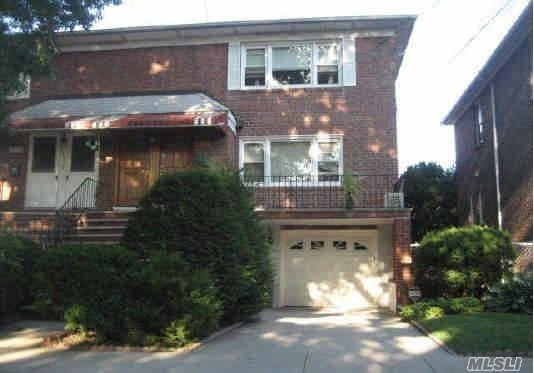 Beautiful 2 Fam. Semi Detached Home., Cast Iron Boiler. Front Porch, Well Maintained Private Yard. Walk To Kissena Park, Lirr, Express Bus X51 To Manhattan.
