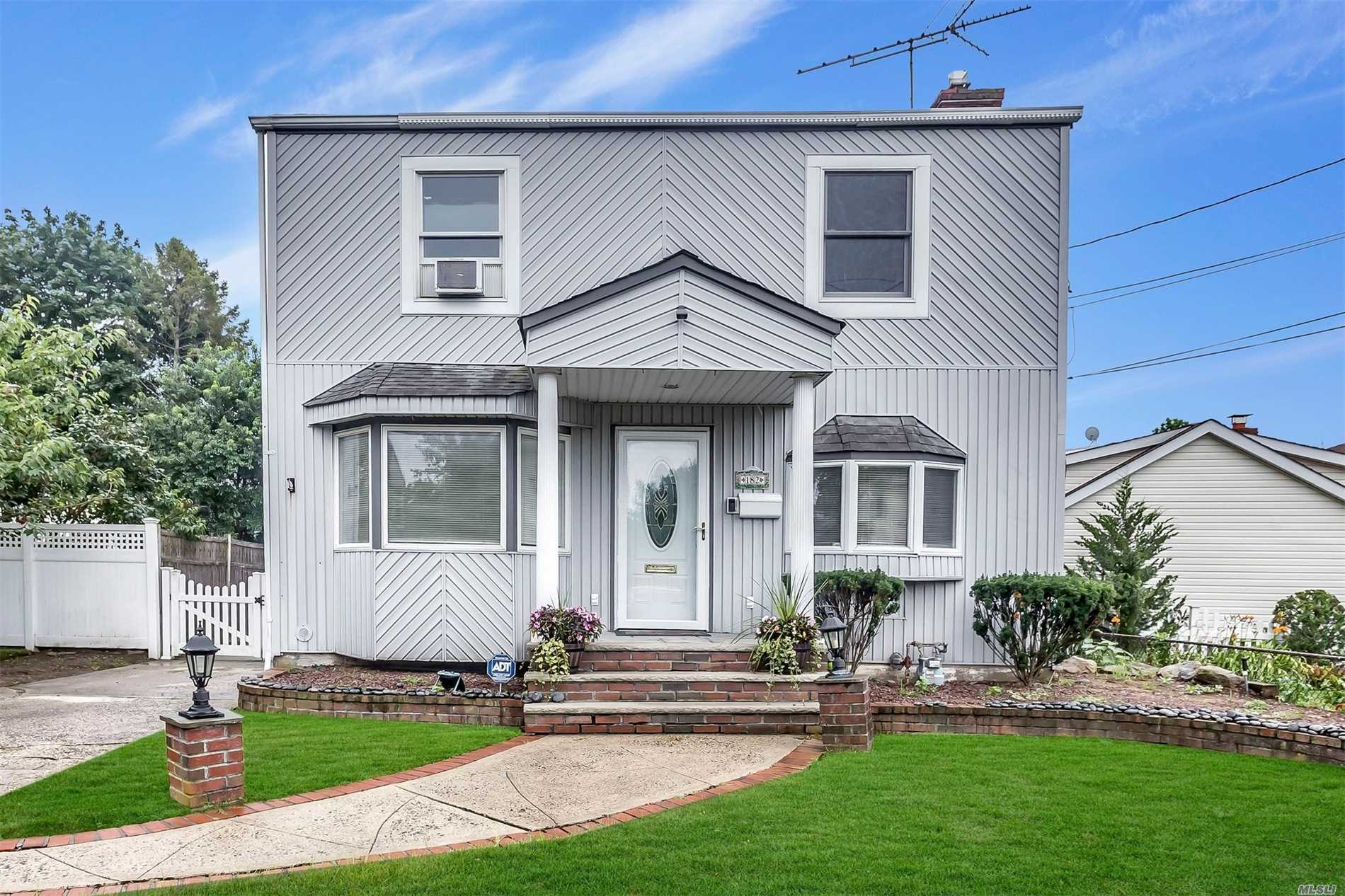 3 Bedroom Colonial With King Size Master Bedroom, Updated Large Eat-In-Kitchen, Updated Heating System, Central Air Conditioning And Central Vacuum, Mid Block On A Quiet Dead End Street. Tax Grievance Has Been Filed