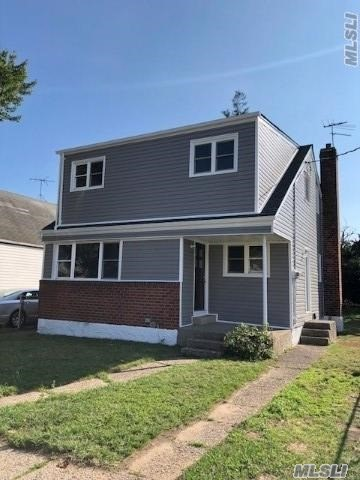 Fully Renovated Det Two Family Home. Large 5 Bedroom, 3 Full Bath, Living Room Dining Room, New Eik, Full Finished Basement With Ose. All New Stainless Steel Appliances, New Hardwood Floors