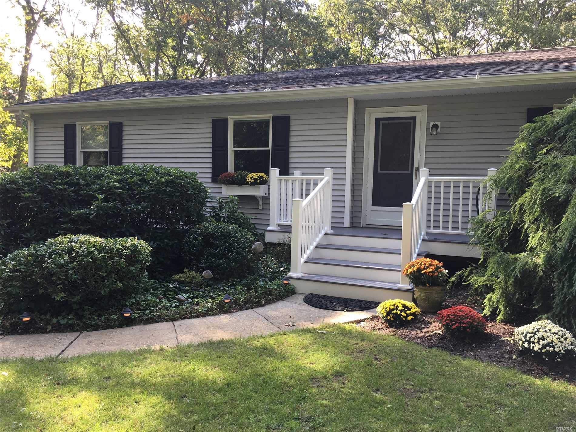 This 4 Bedrm 3 1/2 Bath Charmer In East Moriches Is A Must See! Pristine Move-In Ready Condition With Renovated Kitchen & Baths. Beautiful Wood Flooring, Gas Fireplace In Living Room, Wood Stove In Family Room, Deck, And 2 Car Garage. Beautifully Landscaped And Wooded On A Lovely Low Traffic Cul-De-Sac Street. The Property Backs Up To Mill Pond Creek, Launch Your Kayak Right From Your Yard!. East Moriches School Offers 3 High School Choices, Westhampton Bch, Eastport Manor, Or Center Moriches.