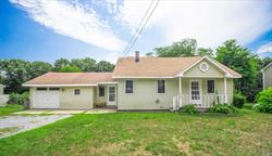 Adorable 2 Bedroom 1 Full Bath Features Eat In Kitchen, Formal Dine, Living Rm, Den, 1 Bedroom On The Main Flr And 1 Huge Bedroom On The 2nd Floor. Also Features Full Basement And 1 Car Garage. Situated On .68 Of An Acre!. A Little Tlc Needed So So Worth It!