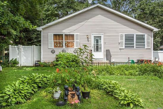 This Home Features Living Room, Dining Area And Full Basement. A Lot Of Potential. Private Fully Fenced Yard.