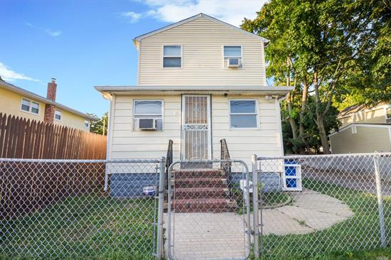 Beautiful 3 Bedroom , 2 Bath Home In Elmont. Bedrooms Are Spacious With Plenty Of Closet Space Throughout The House. 2nd Fl Bthrm With Jacuzzi, Skylight And Deck! Must See!
