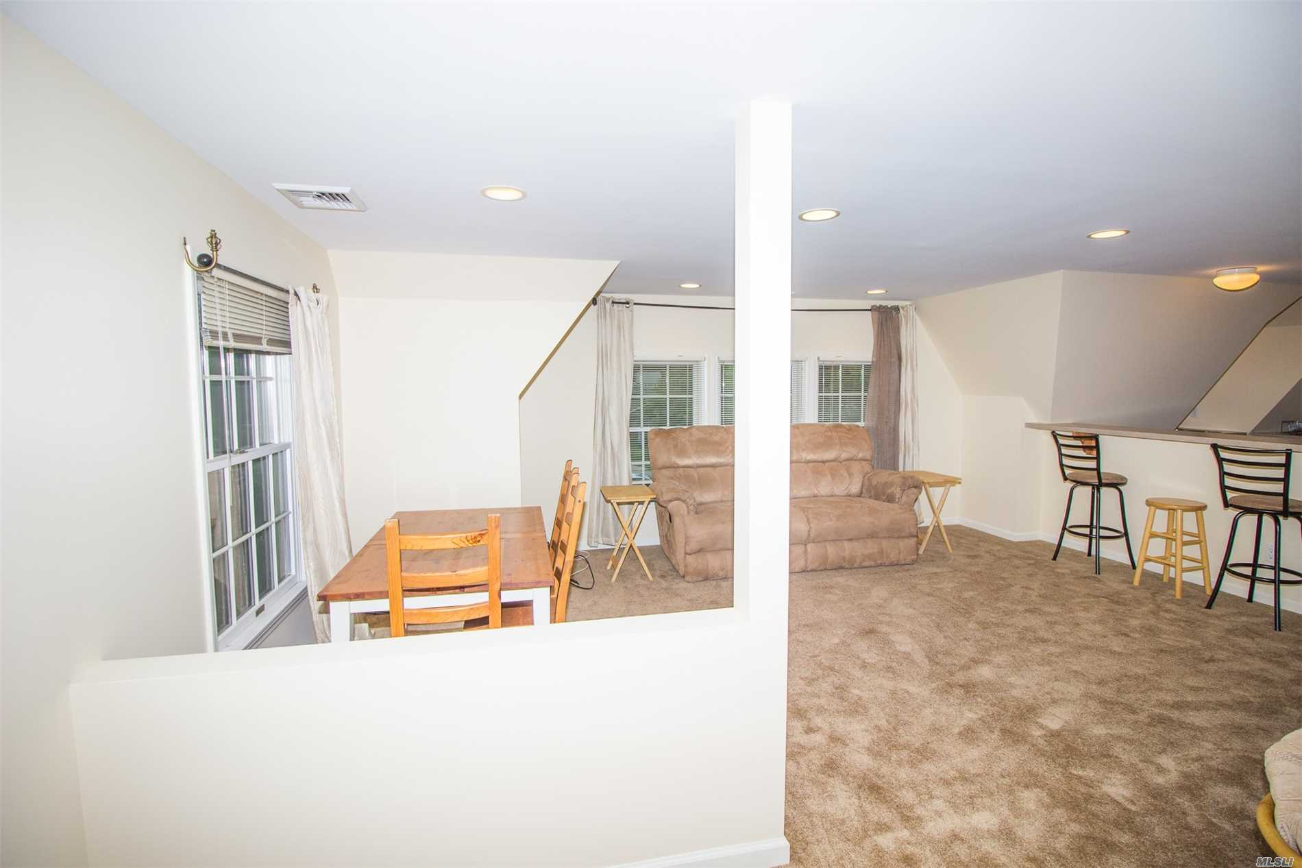 Beautiful 2 Bedroom 2 Bathroom Apartment Right In Center Moriches Town! Walk To The Canal And Enjoy The Benefits Of Having A Water View Apartment! New Carpet, New Washer & Dryer, New Paint! All You Need To Do Is Sign The Lease And Move Right In!
