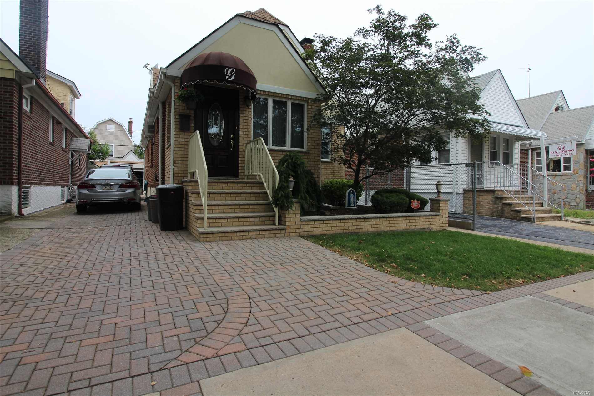 Gas Cooking!!! 3 Bedroom Brick Cape W/ Full Finished Basement With Bonuses. Separate Entrance, Room For Extended Family. Awesome Tree Lined Block In A Booming Area. Hurry, This Will Not Last.