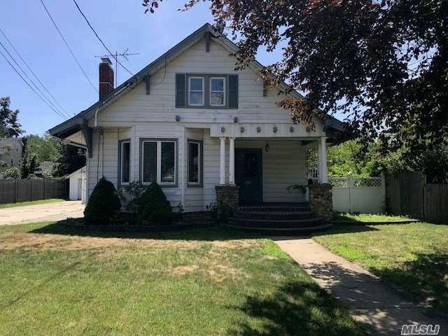 4 Bedroom Cape, Features Spacious Living Room, Dining Room W/High Ceilings, Eik, 1.5 Bathrooms And Full Basement. Sits On Large Lot With 1 Car Det Garage. Close To All, Great Opportunity.