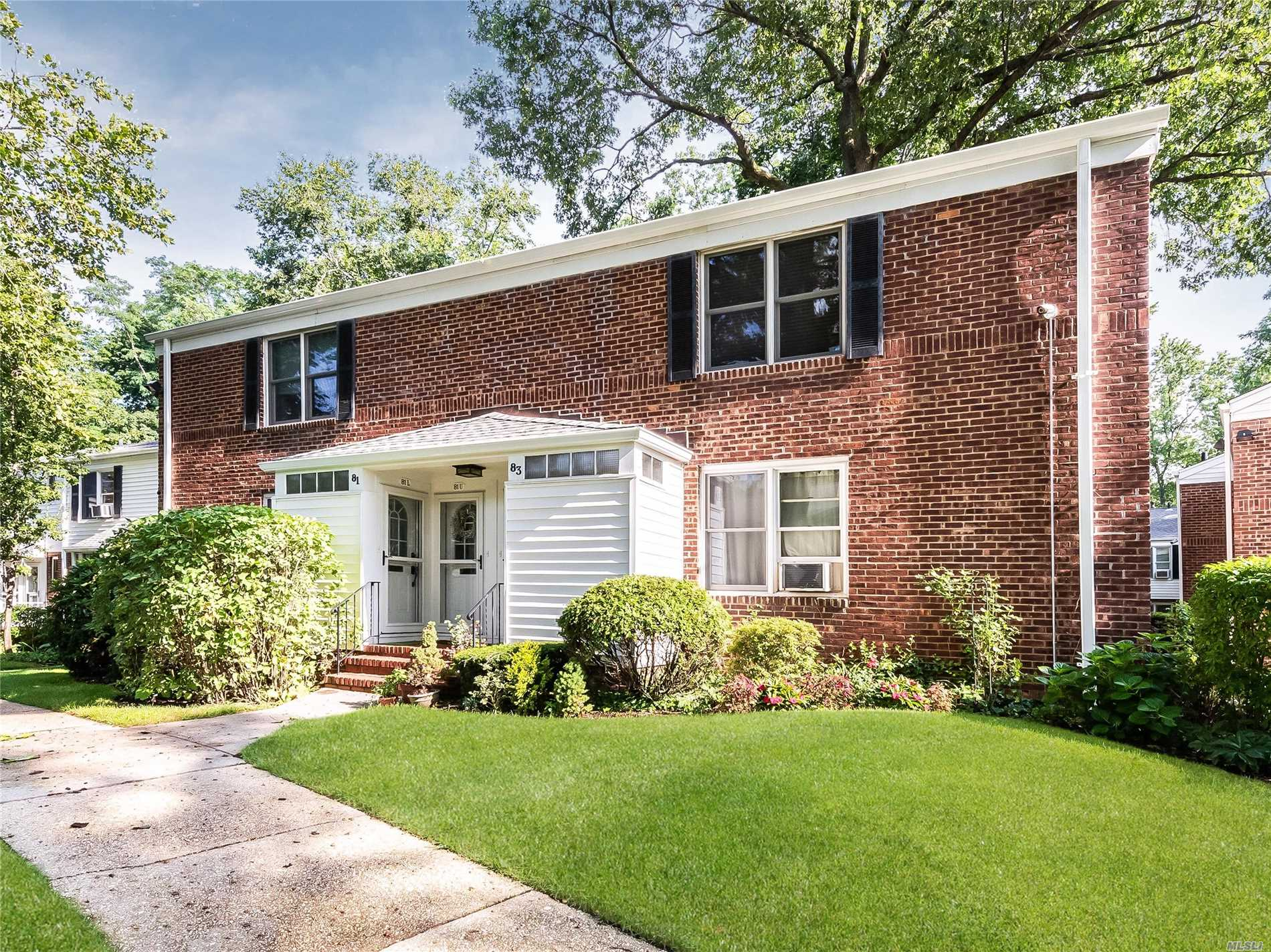 Diamond Sunny Upper Unit. Wonderful Updated Kitchen W/Granite Counters & Stainless Steel Appliances. Gorgeous Beautifully Tiled Bathroom. Gleaming Hardwood Floors. Lots Of Closet Space & Attic Storage. Updated Electric. Nice Quiet Location. Convenient To Laundry Room & Parking. Maintenance Includes Taxes, Heat & Water. Maintenance W/Star: $564.00. Amenities Include: Gym, Laundry, Playground, Storage & Car Wash Areas On Premises. Easy Access To Lirr At Sea Cliff Sta. Immaculate & Move In Ready.