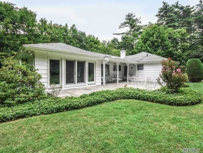 Great Opportunity To Own This Handsome Ranch In The Estate Area Of Lattingtown. Set On 0.92 Lush Acres, You'll Love The Convenient Flow Of Rooms And The Private Lower Level Suite. 2 Car Attached Garage, Generator Hook-Up, Golf And Beach Privileges.