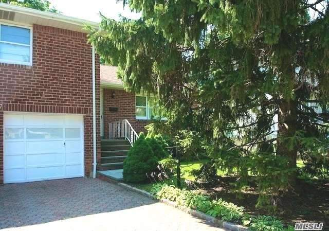 Heat & Electric Are Included In This Spacious, 3X1 Cac Lovely Home (Upper 2 Floors Of Very Well Maintained, Unique, Split Level 2 Family House) Quiet, Beautiful End Of Block Location. Private Entry Opens To Foyer, High Ceilings, Wood Floors & Large Rooms Throughout. Eat In Kitchen, Living Room, Formal Dining Room, Deck/Patio & Big, Private Yard. Shared Washer/Dryer In Basement, 1 Car Garage + Right Side Of Driveway. Subject To Credit/Income Verification & Landlord Approval.