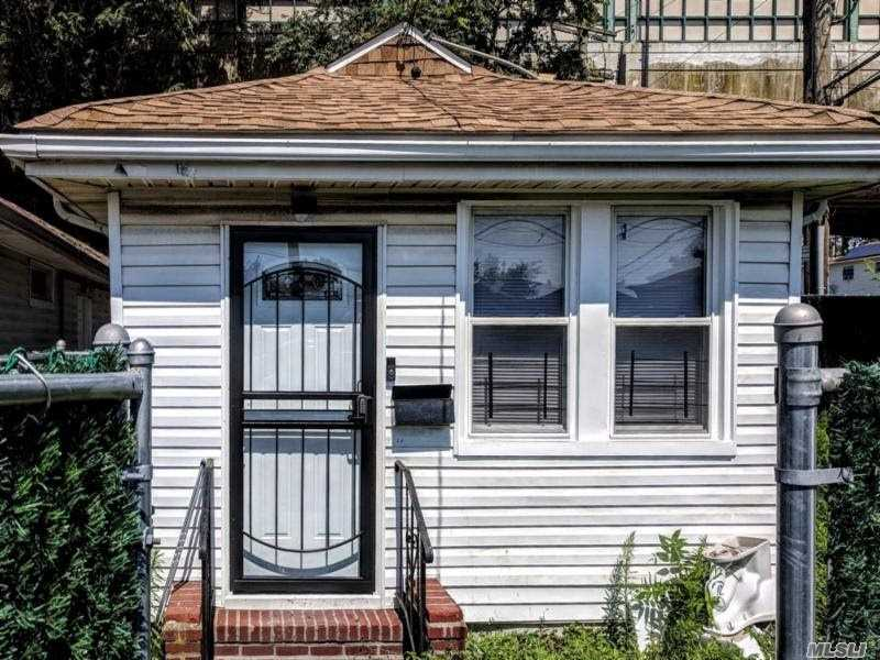 Detached 1 Family, Fully Renovated. 2 Bedrooms, Full Bath. Hardwood Floors, Granite Counter Tops, Recessed Lighting And Baseboard Heating. Large Backyard.