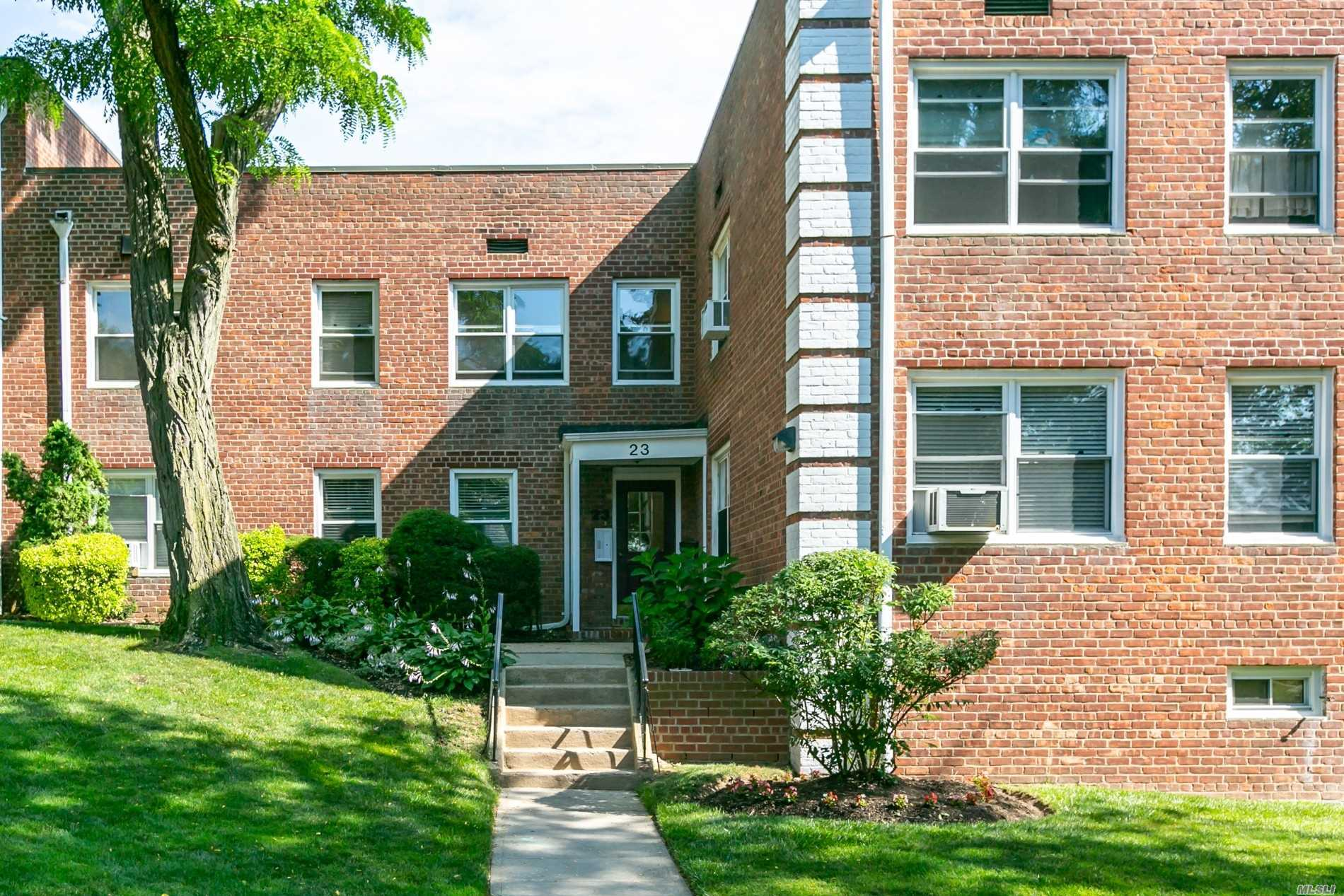 Second Floor, Spacious 2 Bedroom, 1 Full Bath, Lr, Dr & Kitchen. Convenient To Lirr, Highways, Shopping, Library, Restaurants, Parks & The Village. Bike And Laundry Room On Premises. Closets Galore! Maintenance Includes Taxes, Repairs, Grounds And Water. Gas, Electric And Cable Are Not Included