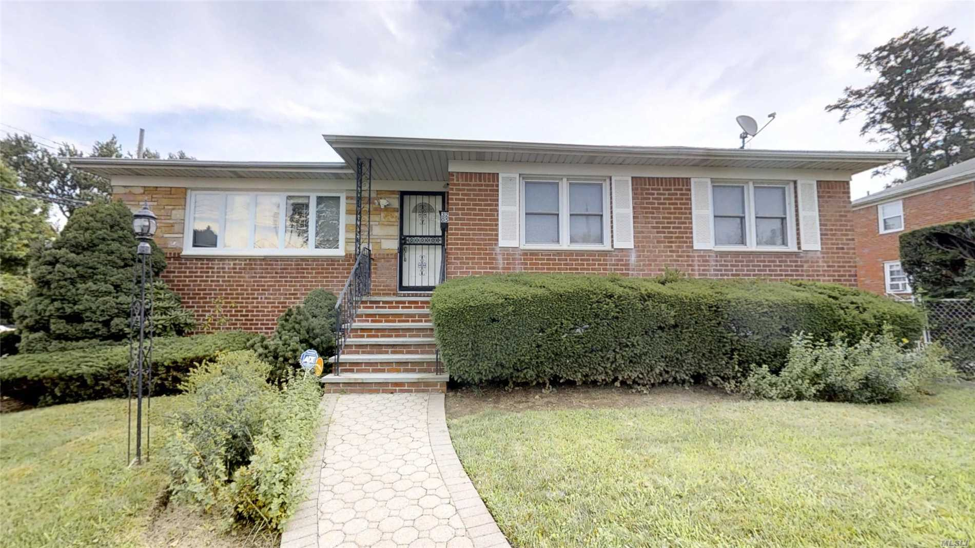Newly Renovated Single Family Brick Home Located In Murray Hill - Flushing. Less Than One Block Away From Bowne Park. Conveniently 5 Mins Walk To Northern Blvd With Restaurants, Cafes, Supermarkets And Much More. Close To All Transportations (Buses/Q13, Q15, Q15A, Q28, Q16, Flushing-Palisades Park Shuttle Bus) & Lirr. Young Brick Exterior With First Floor Offering Three Bedrooms And Two Full Baths, Hardwood Floors With Advanced Technology Kitchen Appliances And Two Car Garage