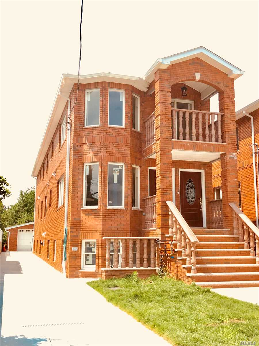 Gorgeous Branded-New Legal 2 Family In Very Convenient Neighborhood. Top-Of-The-Line Building Materials. Large Building Size (2414 Sq Ft, Not Including Basement) Laundry Rooms In Both Apartments. Great Investment.
